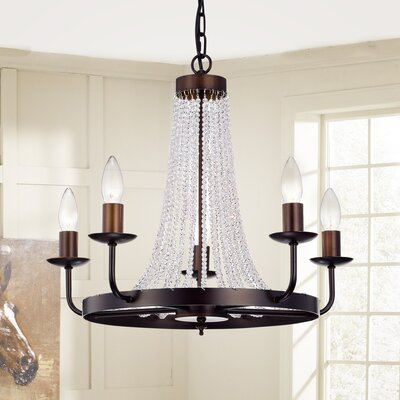 Aleman 5-Light Candle-Style Chandelier