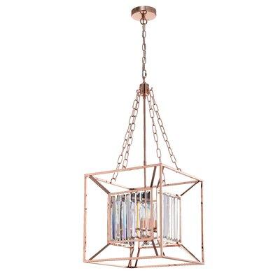 Leffler 4-Light Foyer Pendant