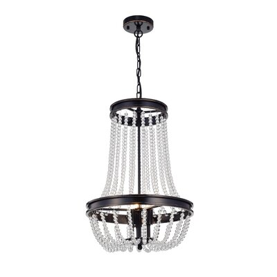 Tourad Vase 3-Light Crystal Chandelier