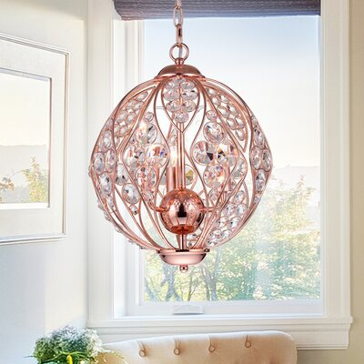 Acubens 3-Light Globe Pendant