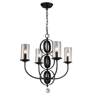 Cowan 4-Light Candle-Style Chandelier
