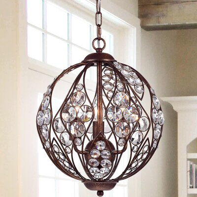 Mattie 3-Light Globe Pendant