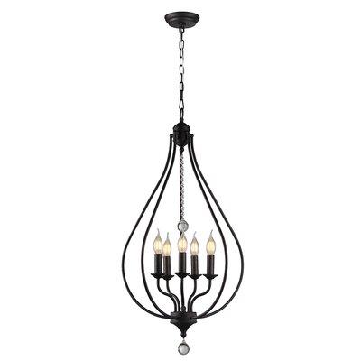 Alcalde 5-Light Foyer/Lantern Pendant