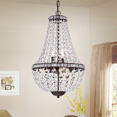 Amersfort 6-Light Crystal Chandelier