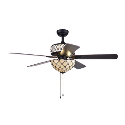 Dade 6-Light 5 Blade Ceiling Fan