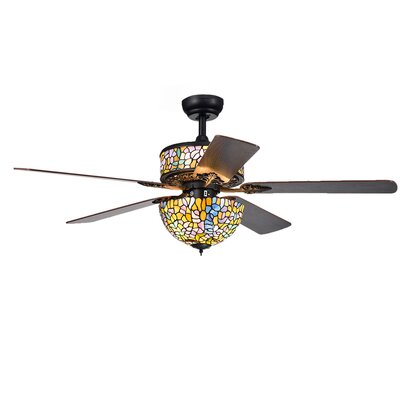 52 Petrillo 5 Blade Ceiling Fan