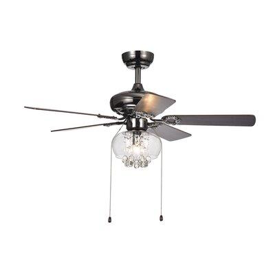 42 Lake Macquarie Crystal 5 Blade Ceiling Fan