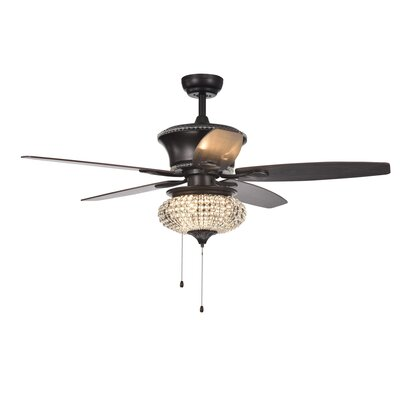 52 Laleia Crystal 5 Blade Ceiling Fan