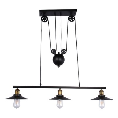 Cully 3-Light Kitchen Island Pendant