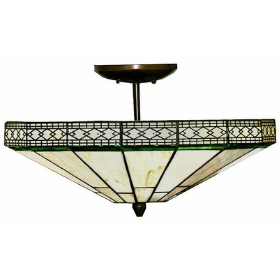 Ann 2-Light Semi Flush Mount
