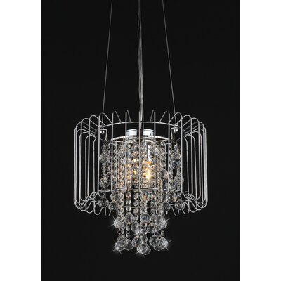 Cassandra 3-Light Drum Chandelier