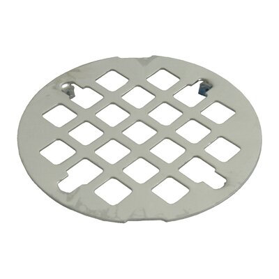 Snap-In Grid Shower Drain