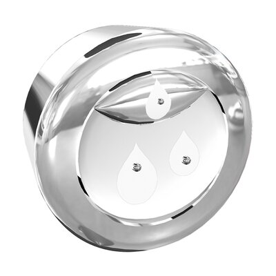 DuoFlush Chrome Replacement Button