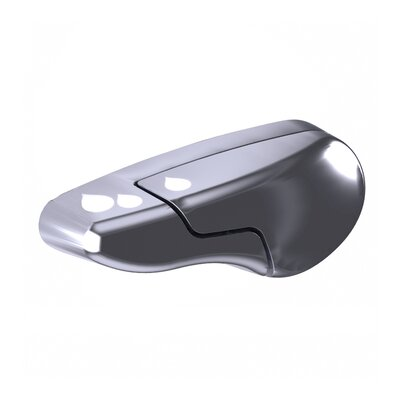 DuoFlush Brushed Nickel Replacement Split Handle