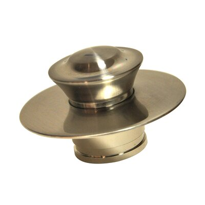 Ez 4.3 Tub Stopper Shower Drain Finish: Brushed Nickel