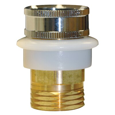 0.75 GHT Male/Female Hose Adapter