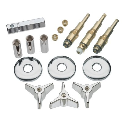 3 Handle Tub/Shower Remodeling Kit for American Standard Colony