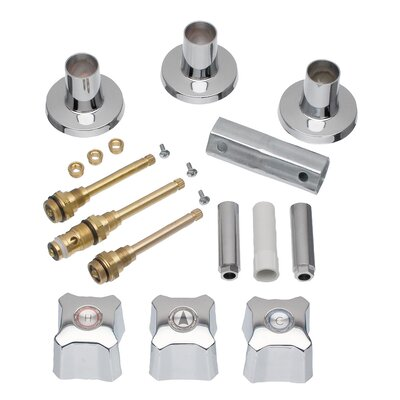 3 Handle Tub/Shower Remodeling Kit for Kohler Trend