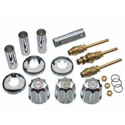 Tub/Shower 3-Handle Remodeling Trim Kit