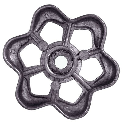 Round Broach Outdoor Wheel Faucet Handle