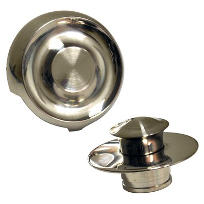 Universal 3 Lift and Turn Tub Drain Finish: Brushed Nickel