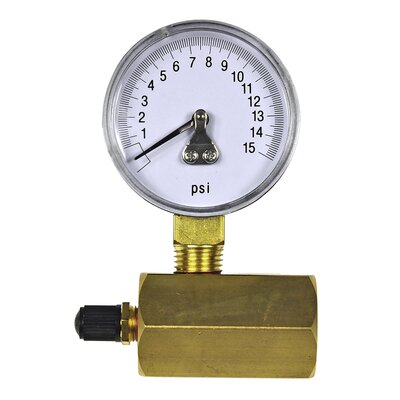 Increment Gas Test Gauge