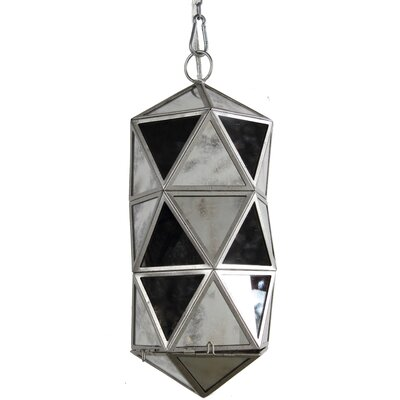 1-Light Mini Cylinder Pendant Size: 19 H x 8 W x 8 D