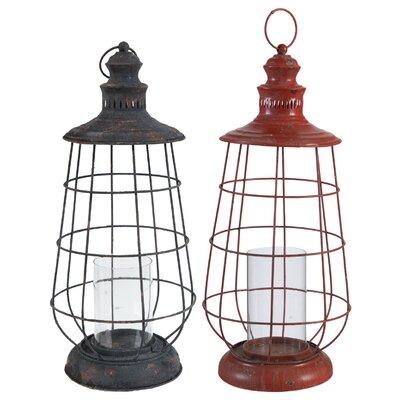A&B Home Metal Lantern 35140