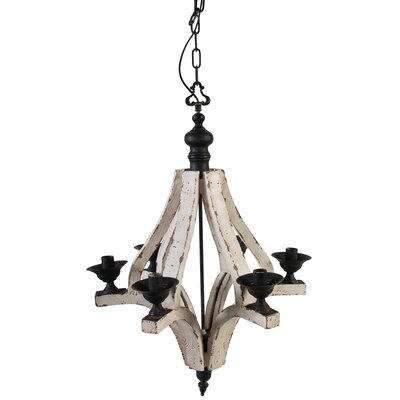 Amedeo 6-Light Candle-Style Chandelier