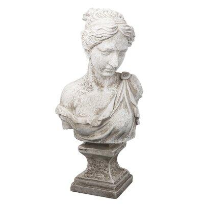 Antique White Bust