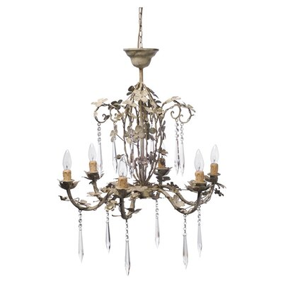 Harmony 6-Light Candle-Style Chandelier