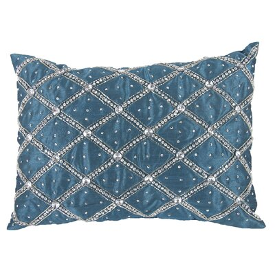 Zelda Lumbar Pillow in Blue Green (Set of 2)