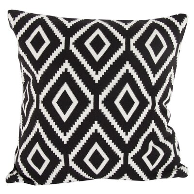 A&B Home Ekra Cashmere-Blend Pillow in Black T37576-BLAC