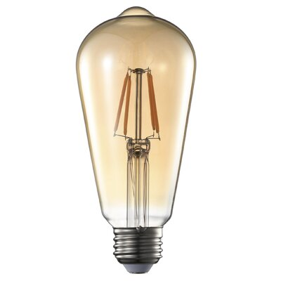 4W E26 Led Amber Light Bulb
