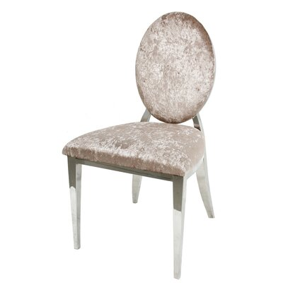 Charlene Side Chair Upholstery: Neutral