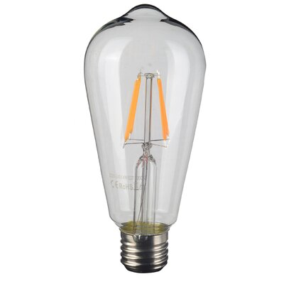 Edison 4W St64 LED Light Bulb (Set of 3)
