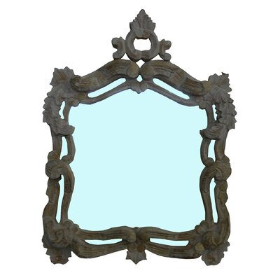 Newmar Ornate Squared Wall Mirror
