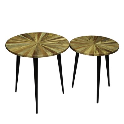 Andes 2 Piece End Table Set