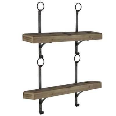 Fosse 10 Bottle Wall Mounted Wine Rack
