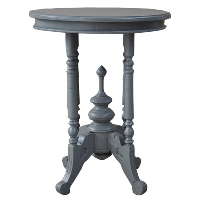 Queen Anne End Table Finish: Gray