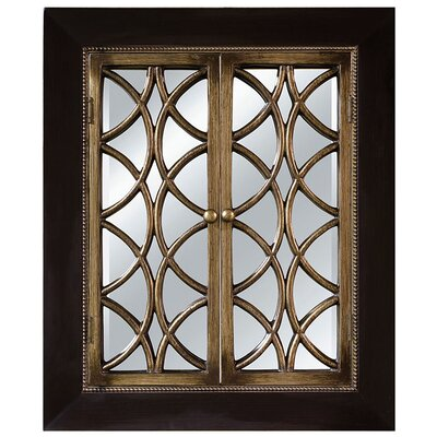 Imagination Mirrors Charlotte Web Wall Mirror in Espresso Rustic Silver at Sears.com