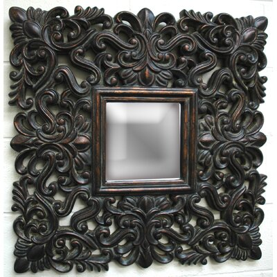 Imagination Mirrors Antique Lace Wall Mirror in Dark Gold at Sears.com