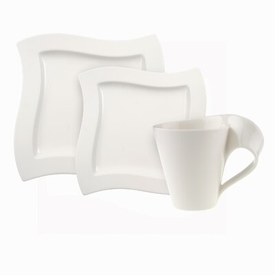 New Wave 12 Piece Dinnerware Set, Service for 4 1025257053