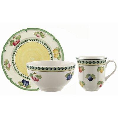 French Garden Fleurence 12 Piece Dinnerware Set 1022817053