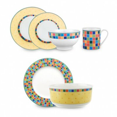 Twist Alea Limone 18 Piece Dinnerware Set 1013607171