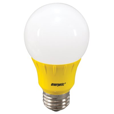 Yellow Party Light Bulb