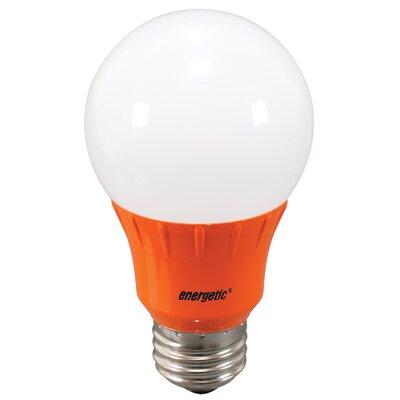 Orange Party Light Bulb