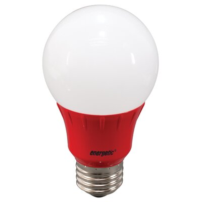Red Party Light Bulb