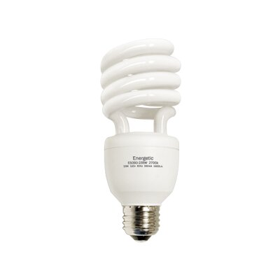 E26/Medium Compact Fluorescent Light Bulb Wattage: 23W