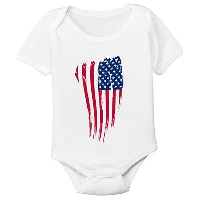 Spunky Stork USA Flag Organic Bodysuit - Size: 3-6 Month at Sears.com